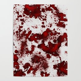 Blood Stains Poster