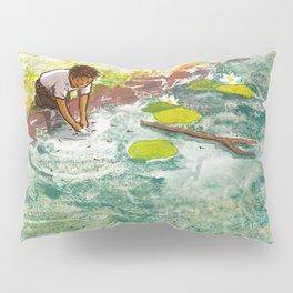 If I let tadpoles swim across my hands Pillow Sham