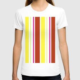 Stripes in colour 4 T-shirt