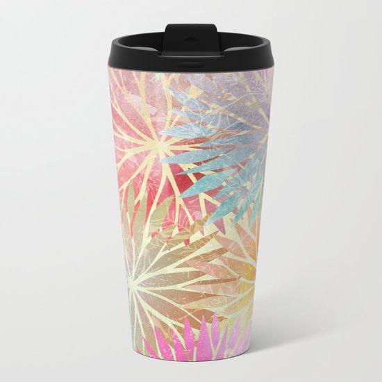 Summer Pattern #3 Metal Travel Mug
