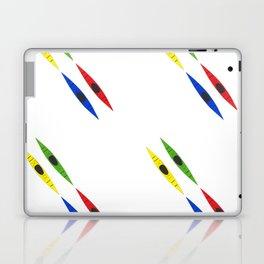 Colorful Kayaks Laptop & iPad Skin