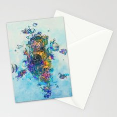 The Diver Stationery Cards