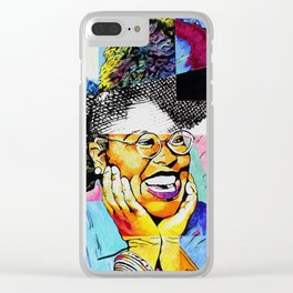 The Art of Joy Clear iPhone Case