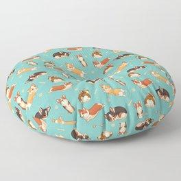 Corgis Floor Pillow