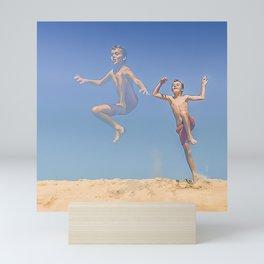 Jump ! Mini Art Print