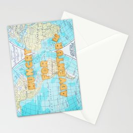 Hungry for adventure Stationery Cards
