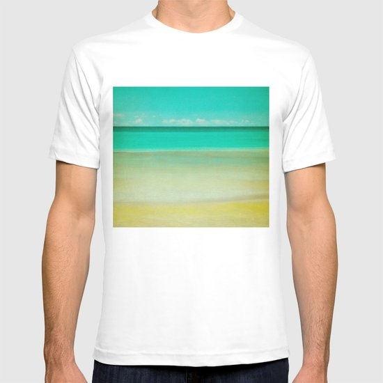 watercolor T-shirt