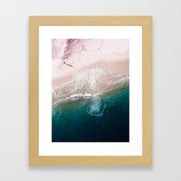 Ocean Walk V Framed Art Print