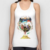 spirited away Tank Tops featuring Spirited away by Willow