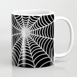Spiderweb | Silver Glitter Coffee Mug