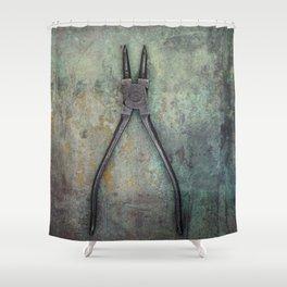 Pliers II Shower Curtain