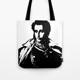 Napo in Black and White Tote Bag