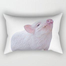 baby piglet Rectangular Pillow