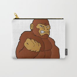 cartoon gorilla Carry-All Pouch
