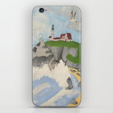 Lighthouse By The Sea iPhone & iPod Skin