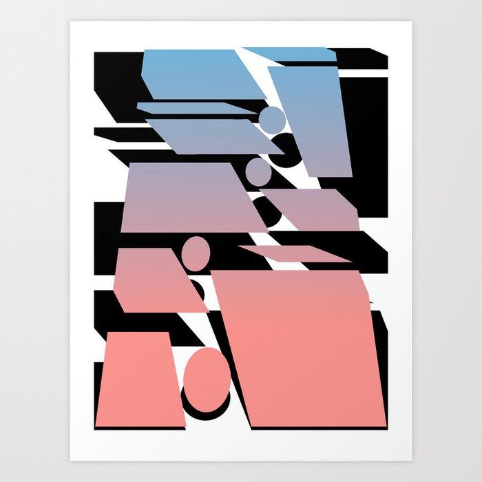 Transplanting Sunset Art Print