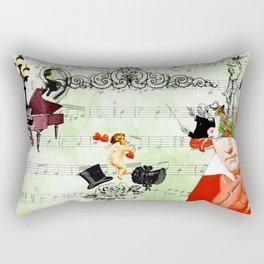 Classical music Rectangular Pillow