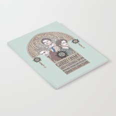 Carry On My Wayward Son (Castiel, Sam and Dean Winchester) Notebook