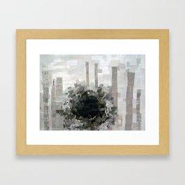 black hole Framed Art Print