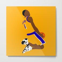 NBA Players | KobeBryant Dunk Metal Print