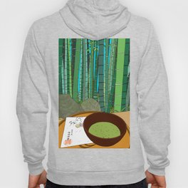 Bamboo Temple in Japan Hoody