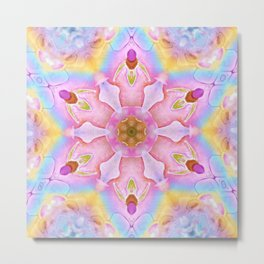 Unicorn Mandala Metal Print