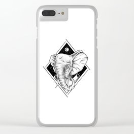 THE GENTLE GIANT Clear iPhone Case