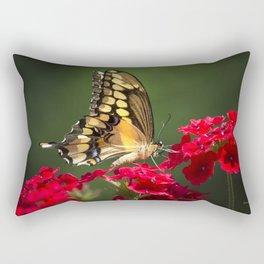 Giant Swallowtail Butterfly Rectangular Pillow