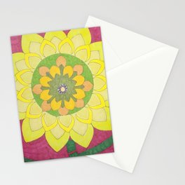Flower of My Sun Stationery Cards