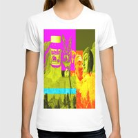 rushmore T-shirts featuring Mountain Rushmore  by Latidra Washington