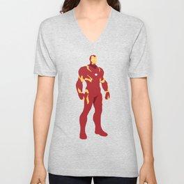 Iron Man Unisex V-Neck
