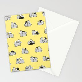 baby penguin print Stationery Cards