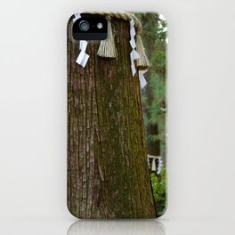 Sacred Trees iPhone Case