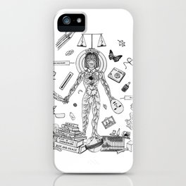 Behave Yourself iPhone Case