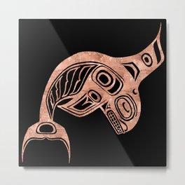 Copper Keét Night Metal Print