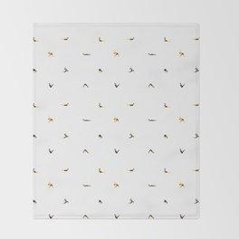 Yoga Pattern Throw Blanket