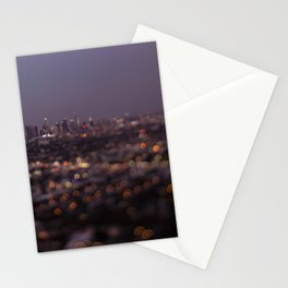 Angel City Lights (L.A. at Night) Stationery Cards