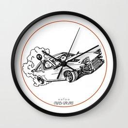 Crazy Car Art 0115 Wall Clock