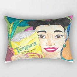 Tempura Girl Rectangular Pillow