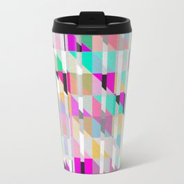 Geometric Deconstruct Travel Mug