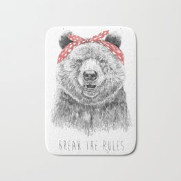 Break the rules Bath Mat