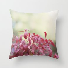 Love Autumn Colors Throw Pillow