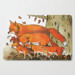 Noah's Ark - Fox Cutting Board