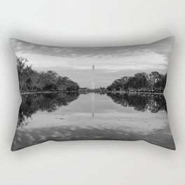 Reflecting Pool- Washington DC Rectangular Pillow