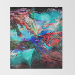 Into the Night Throw Blanket