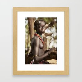 Dassanech Beauty Framed Art Print