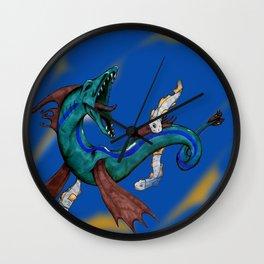 Serpent Sea Monster Wall Clock