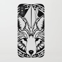 robin hood iPhone & iPod Cases featuring Foxin Hood by AdamAether