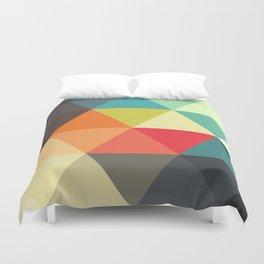 Shape + Pattern!  Duvet Cover
