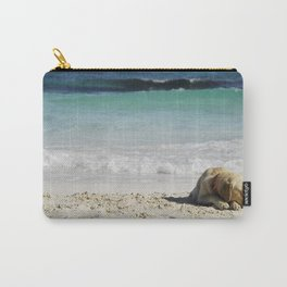 beach dog Carry-All Pouch